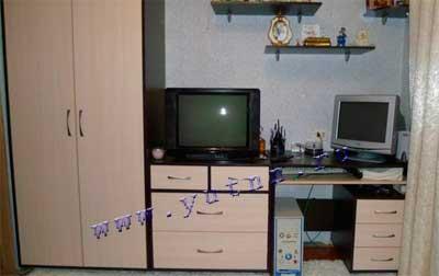 стенка с компьютерным столом фото